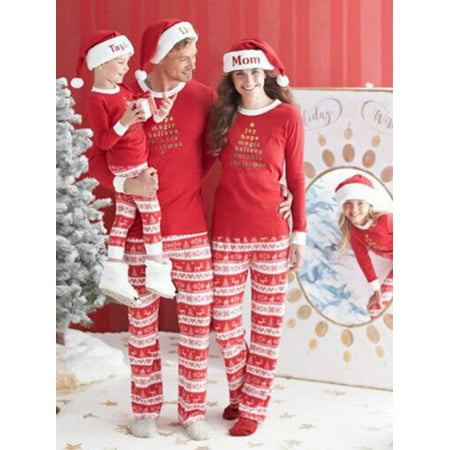Starvnc Family Cute Matching Children Adult Pajamas Set Sleepwears - Pj & Me