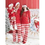 Starvnc Family Cute Matching Children Adult Pajamas Set Sleepwears