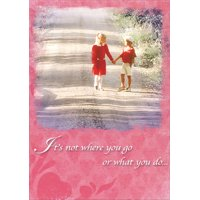 Product Image Recycled Paper Greetings Not Where You Go Valentines Day Card