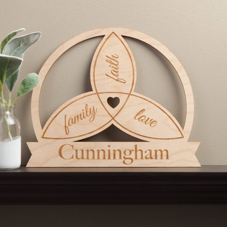 Celtic Circle Personalized Wood Plaque