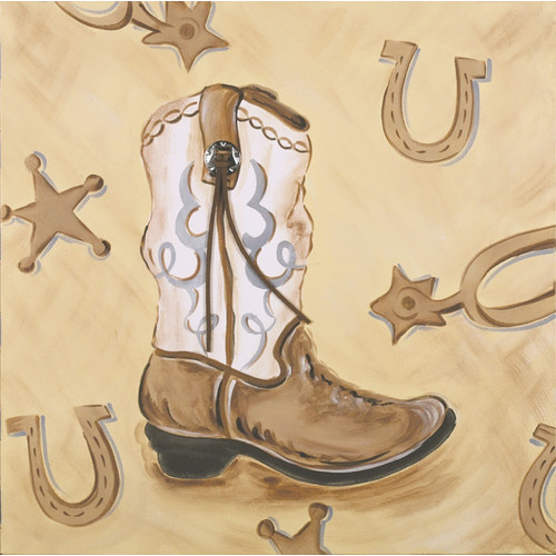Renditions by Reesa Boots Canvas Art