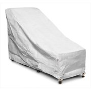 KoverRoos DuPont Tyvek White Chair and Ottoman Cover