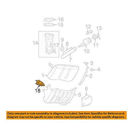 jeep chrysler oem 99-01 grand cherokee-fuel filter 68193494aa - walmart com