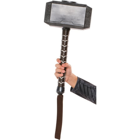 Child's Thor Ragnarok Mjolnir Hammer Toy Costume Accessory - Thor Womens Costume