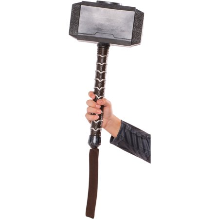 Child's Thor Ragnarok Mjolnir Hammer Toy Costume Accessory - Thor Costume Accessories