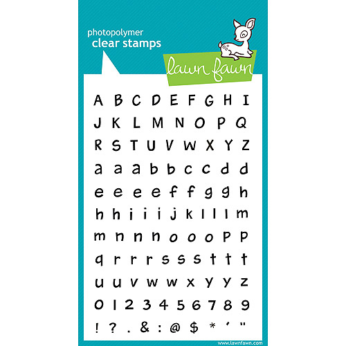 Lawn Fawn Clear Stamps Harolds Abcs