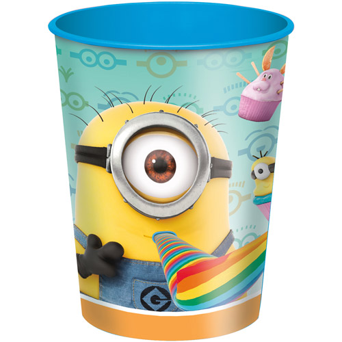 16 oz Despicable Me Plastic Cup