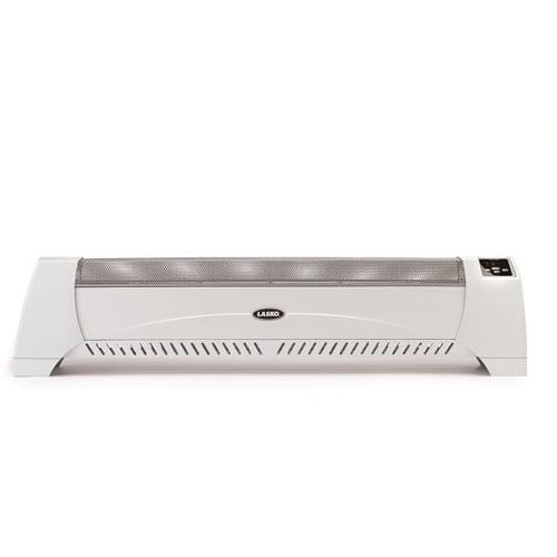 Lasko Silent Heater with Digital Display, White