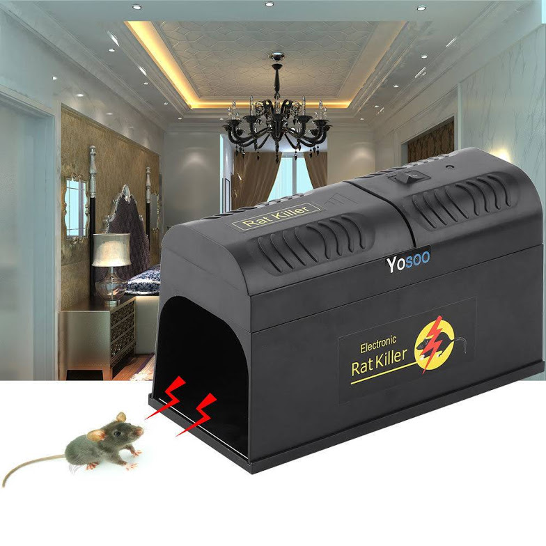 Electronic Mouse Trap Victor Control Rat Killer Pest Mice Electric Zapper Rodent