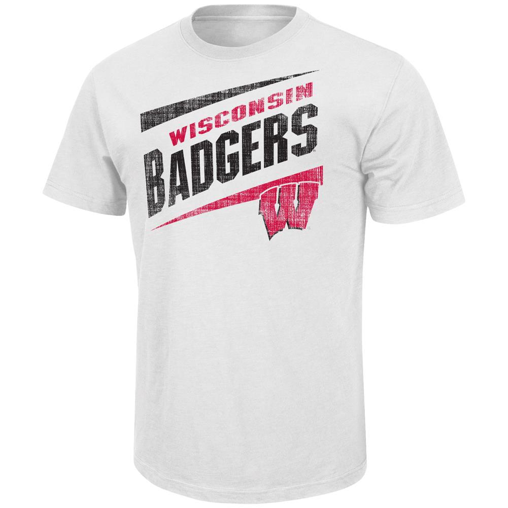 Men's Downslope University of Wisconsin Badgers Short Sleeve Tee