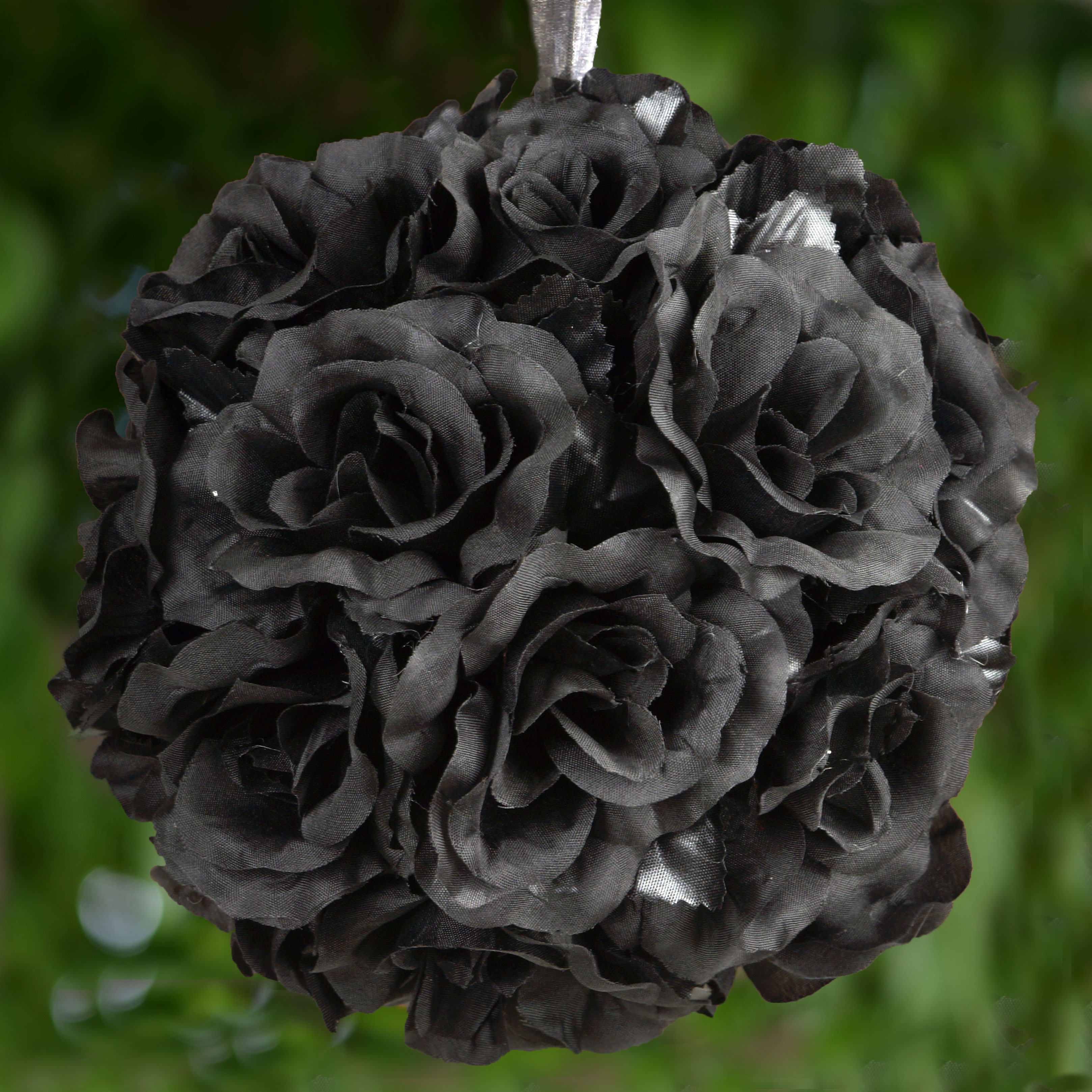 Efavormart 4 PCS Rose Pomander Silk Flower Balls for DIY Wedding Bouquets Centerpieces Arrangements Decorations Wholesale Supplies