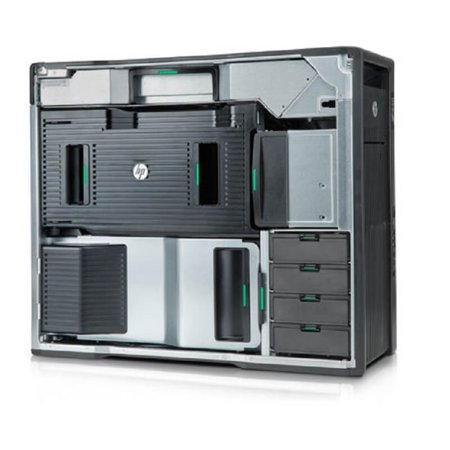 Refurbished HP Z800 Workstation X5650 Six Core 2.66Ghz 24GB 1TB Q5000 Win 10 Pre-Install - image 2 of 3