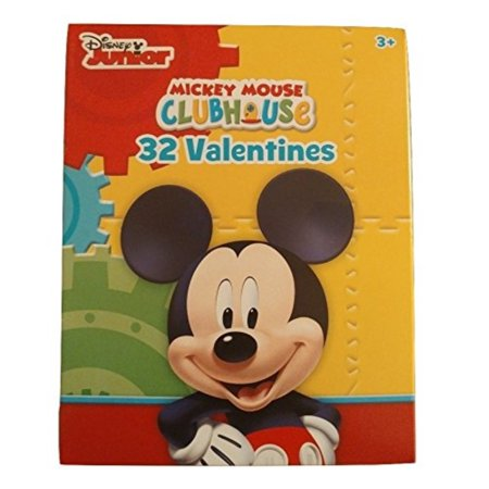 Mickey Mouse Clubhouse - Box of 32 Valentines Day Cards