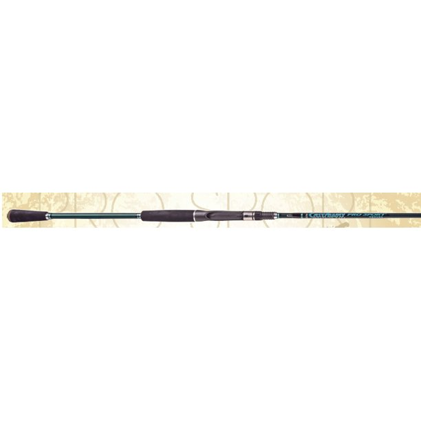 "CastAway Pro Sport 7'3"" Mag Bass Freshwater Casting Fishing Rod Pole M Action H Power"