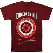 Comeback Kid Men's  Wasted Arrows T-shirt Red