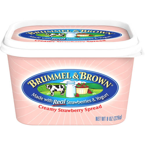 Brummel & Brown Creamy Simply Strawberry Fruit Spread, 8 oz