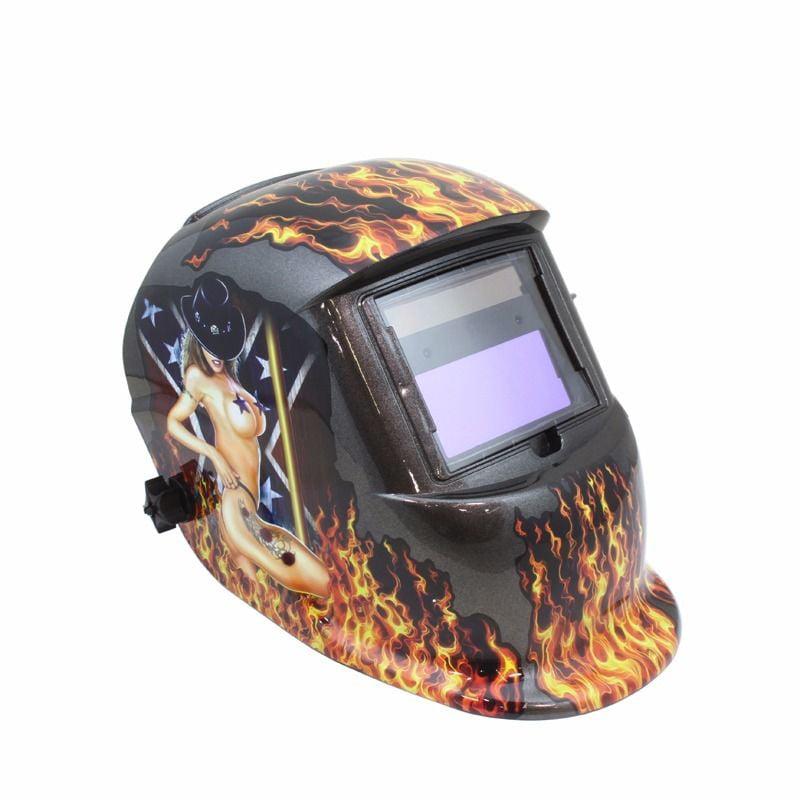 GHP Cowgirl Flames Light/Dark Shade 20-131°F Auto Darkeni...