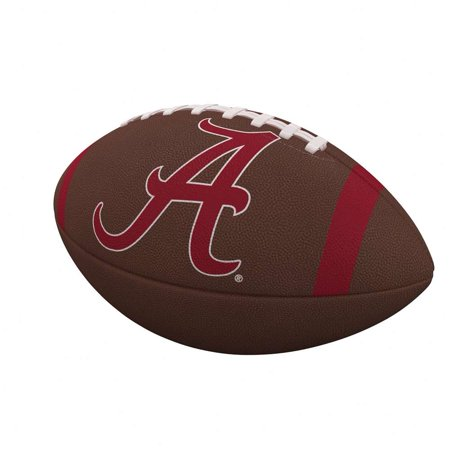 - Alabama Crimson Tide Team Stripe Official-Size Composite Football