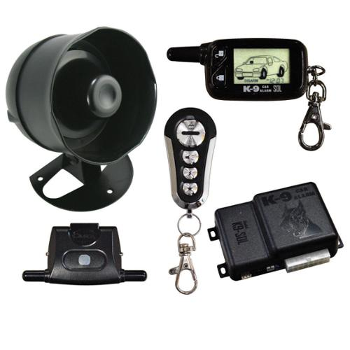 New Omega K9-Sol 2 Way Lcd Remote Security Car Alarm System Keyless Entry Pager