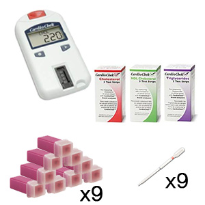 CardioChek Cholesterol Analyzer Starter Test Kit