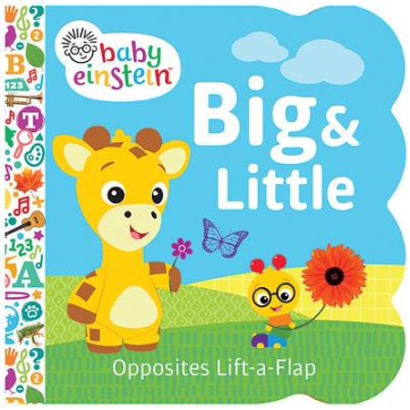 Baby Einstein Big and Little: Chunky Lift a Flap Board Book (Board Book)