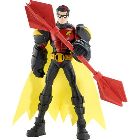 Batman Power Attack Fighting Bo Staff Robin Action Figure