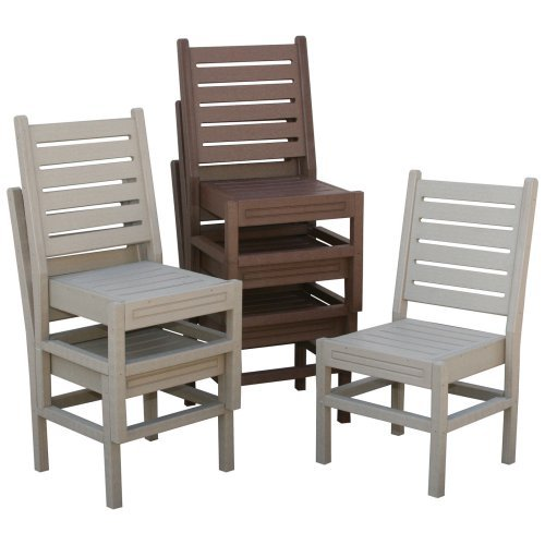 Eagle One Recycled Plastic Stackable Chair