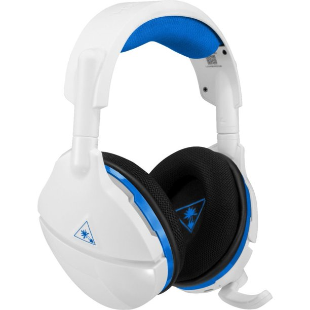 Turtle Beach Stealth 600 Wireless Gaming Headset for PS4, PC (White)