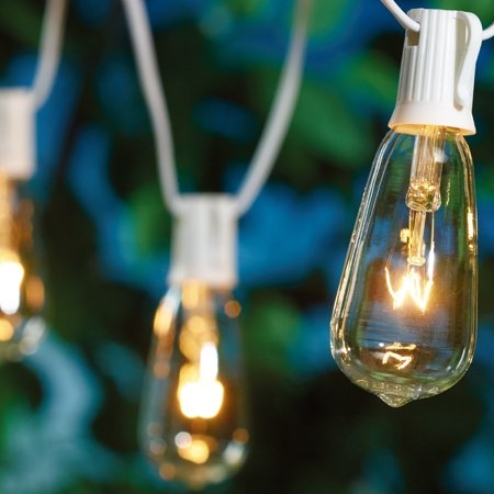 Better Homes & Gardens Outdoor 1 Set 20-Count Edison String Light