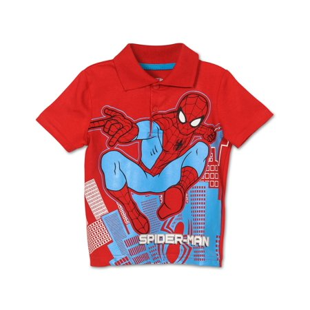 2f1868981 Toddler Boys' Spiderman Polo Shirt | Walmart Canada