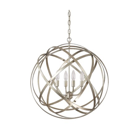 Capital Lighting Fixtures 4234Wg Axis 4 Light 23 Inch Winter Gold Pendant Ceiling Light In  None