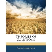 Theories of Solutions