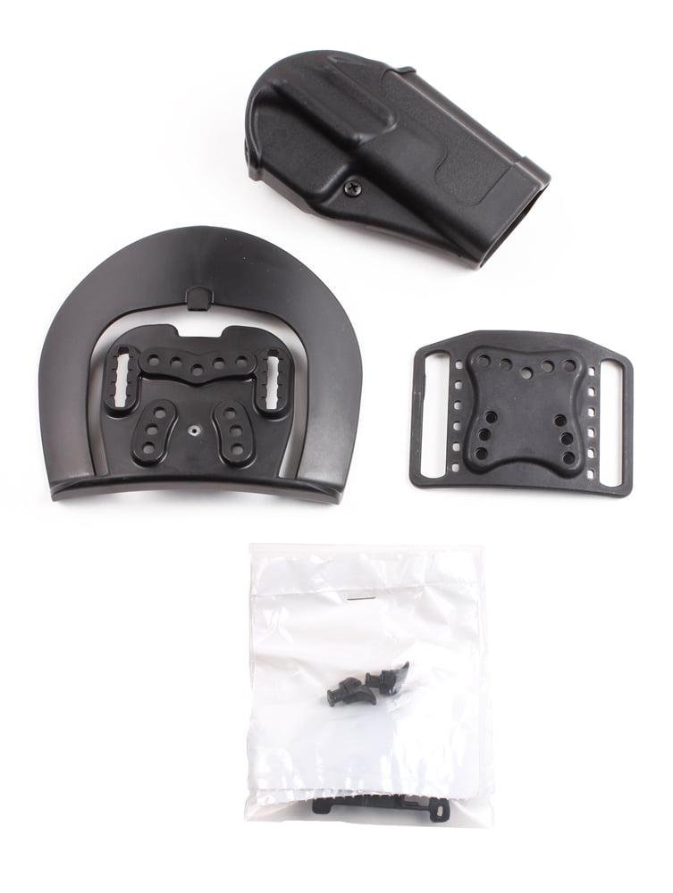 BLACKHAWK! Sportster 415613BK-R Holster Glock 21 M&P 0.45 cal,9mm,0.40 cal CQC by BLACKHAWK!