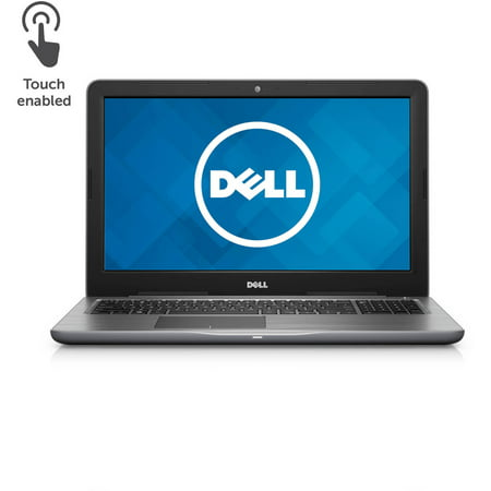 Dell Inspiron I55655850gry 15 6  Laptop  Touchscreen  Windows 10 Home  Amd Fx 9800P Processor  16Gb Ram  1Tb Hard Drive