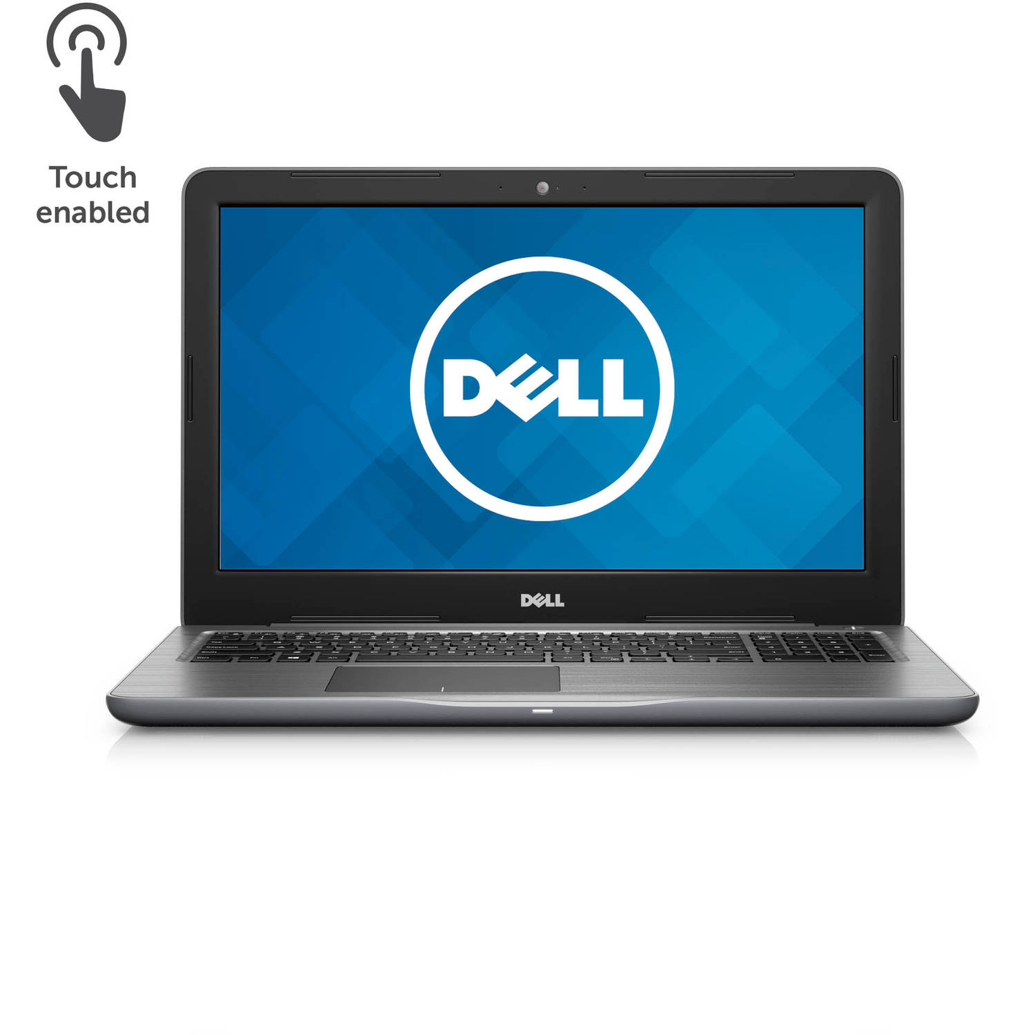 "Dell - Inspiron 15.6"" Touch-Screen Laptop - AMD FX - 16GB Memory - AMD Radeon R7 M445 - 1TB HD - Matte gray"