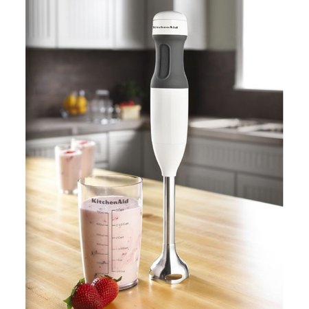 Kitchenaid Khb1231 2 Speed Hand Blender White Walmart Com