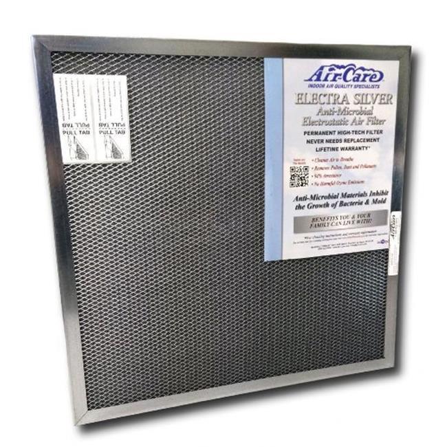 Air-Care Silver Electrostatic Permanent Air Filter - 16 x 20 x 1 in.