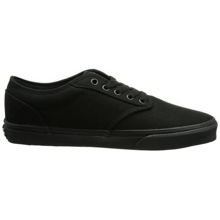 Vans Men's VANS ATWOOD (CANVAS) SKATE SHOES 13 Men US (BLACK/BLACK)