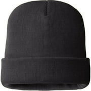 MO8252, Mens 100% Acrylic Hat, 40 gm 3M Thinsulate Lined, Charcoal Grey Color (One Size Fits Most)