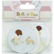 Trimcraft Belle & Boo II Toppers 16/Pkg-Characters
