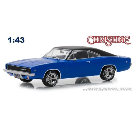 1968 Dodge Charger (Dennis Guilder's) Blue with Black Top