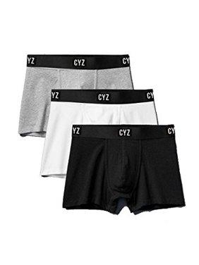 2c8b7746fdd11 Product Image CYZ Men's 3-PK Cotton Stretch Boxer Briefs