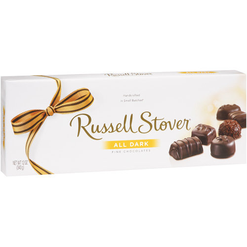 Russell Stover: All Dark Fine Chocolates, 12 Oz