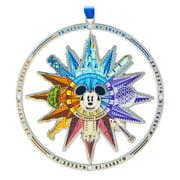Disney Parks Walt Disney World Compass Christmas Metal Ornament New with Tags
