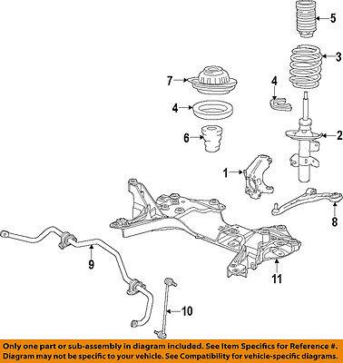 Dodge CHRYSLER OEM 13-15 Dart Front Suspension-Coil Spring Insulator 5168086AD