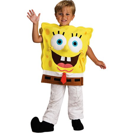 Spongebob Toddler Halloween Costume - One Size - Cheap Toddler Halloween Costumes Canada