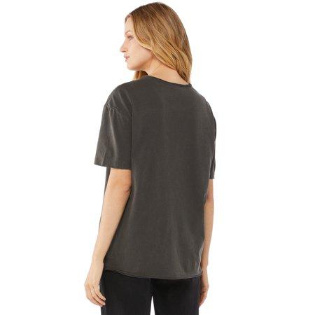 Scoop Women's Def Leppard Split Seam Hem Boyfriend T-Shirt