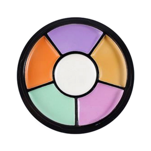 (6 Pack) KLEANCOLOR White Lies Creamy Correcting Concealer - Complete Protection Corrector Palette
