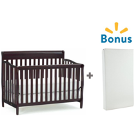 convertible in nursery baby cribs crib white bundle arbour and mattress