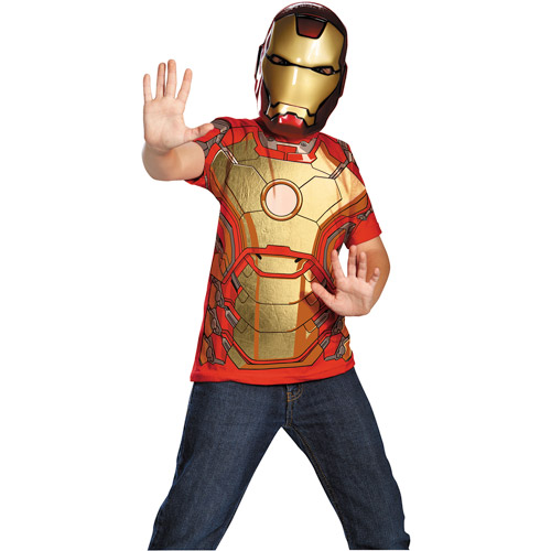 Iron Man 3 T-shirt Child Halloween Costu